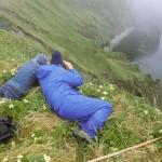 Sam Peters ja Ian Sullivan Loch Nessin järvellä