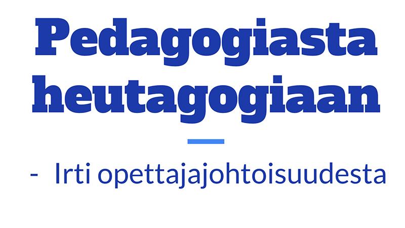 pedagogiasta
